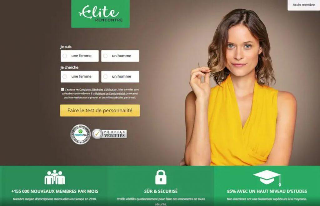 elite rencontre, le meilleur site de rencontre sérieux élitiste
