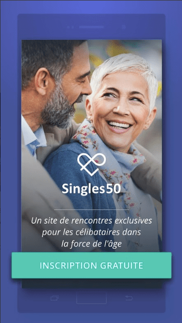 application mobile singles50