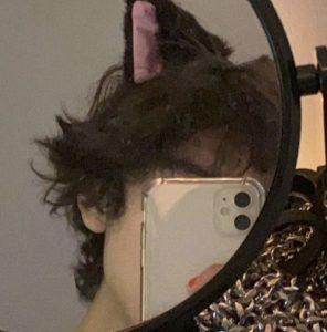 Photo de profil visage caché